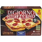 DiGiorno Crispy Pepperoni Pan Pizza, 2 ct.