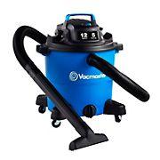 Vacmaster 12-Gal. Wet/Dry Vacuum - Blue