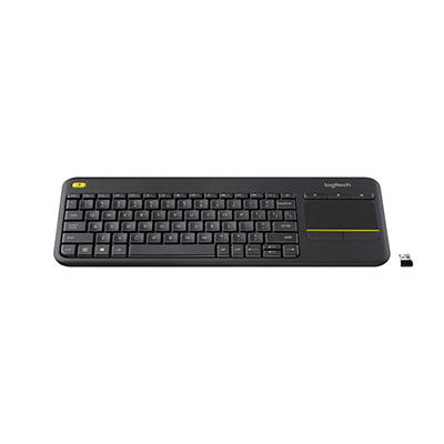 Logitech K400 Plus Wireless Touch Keyboard with Built-in Trackpad