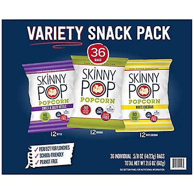 SkinnyPop Variety Pack, 36 ct.