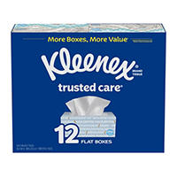 12-Pack Kleenex Trusted Care Everyday Facial Tissues Deals