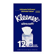 Kleenex Ultra Soft Facial Tissues, 65 ct./12 pk.