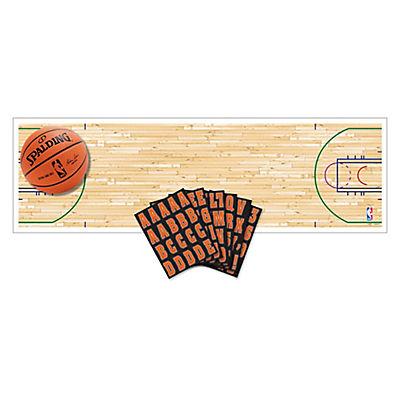 Amscan Spalding Basketball Customizable Banner