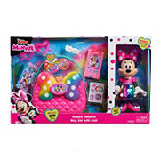 Disney Junior Minnie's Happy Helpers Bag Set with Bonus Minnie Doll