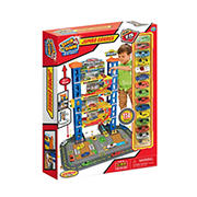Express Wheels 114-Pc. Track 'N Town Jumbo Garage