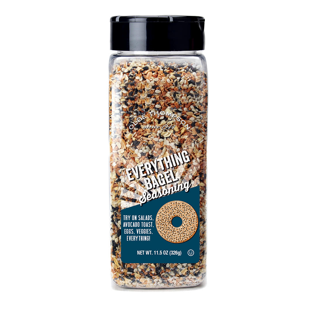 4dd26b165c10 Old Thompson Everything Bagel Seasoning, 11.5 oz.