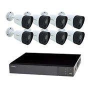 Q-See 8-Channel 8-Camera 5MP Security System with 2TB HDD DVR