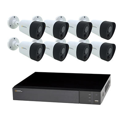 Q-See 8-Channel 8-Camera 5MP Analog Security System with 2TB HDD DVR