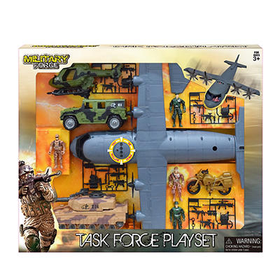 Military Force Task Force Playset