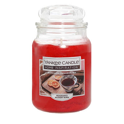 Yankee Candle Home Inspiration Large Candle Jar, 19 oz. - Mandarin Cin