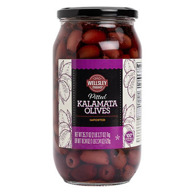 Wellsley Farms Pitted Kalamata Olives, 35.27 oz.