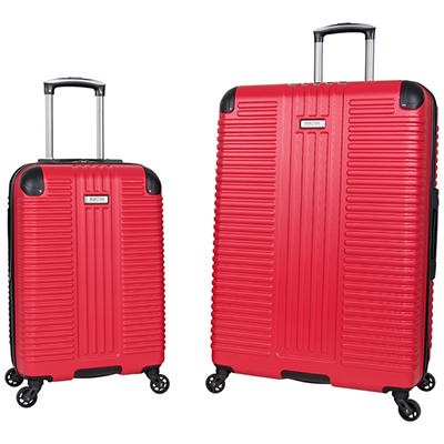 "Kenneth Cole Reaction 2-Pc. 20"" and 28"" Hardside Luggage Set - Red"