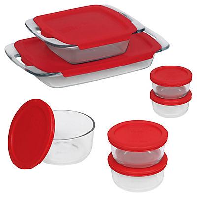 Pyrex Bake N Store Baking and Storage Dish Set, 14 pc.