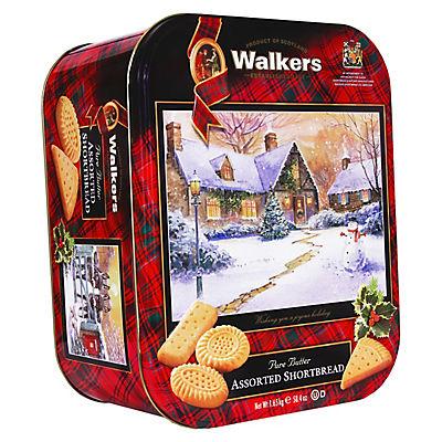 Walkers Pure Butter Shortbread Assortment, 58.4 oz.