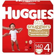 Huggies Little Snugglers Baby Diapers, Size 4, 140 ct.