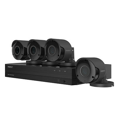 Wisenet 8-Channel 8-Camera 4k Ultra HD Wired Security System with 2TB