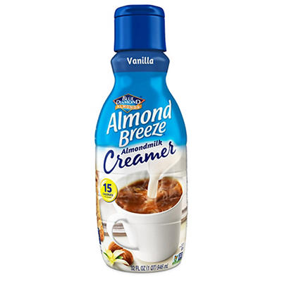 Blue Diamond Almond Breeze Vanilla Almondmilk Creamer, 32 fl. oz.