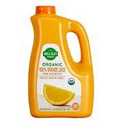 Wellsley Farms Organic Orange Juice, 89 fl. Oz.