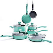 GreenLife Ceramic 12-Pc. Non-Stick Cookware Set