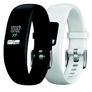 Garmin Vivofit 4 Bundle with Bonus Band - Black