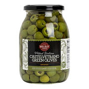 Wellsley Farms Castelvetrano Pitted Sicilian Green Olives, 35.3 oz.