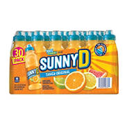 SunnyD Tangy Original Sports Bottles, 30 pk./11.3 oz.