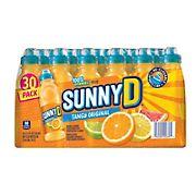 SunnyD Tangy Original Sports Bottles, 30 pk./11.3 oz.