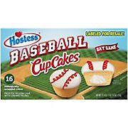 Hostess Baseball Cupcakes, 16 ct.