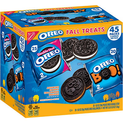 Oreo Double Stuffed Fall Treats, 45 ct.