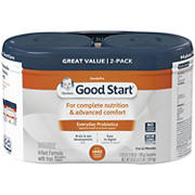 Gerber Good Start Gentle HMO Infant Formula with Iron, 2 pk./25 oz.