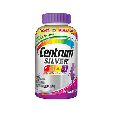 Centrum Silver Women's Multivitamin and Multimineral Supplement Tablet