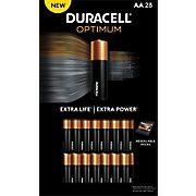 Duracell Optimum AA Batteries, 28 ct.