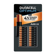 Duracell Optimum AAA Batteries, 22 ct.