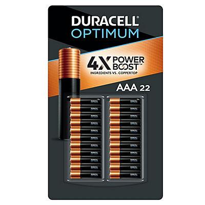 Duracell Optimum AAA Batteries, 22 ct.