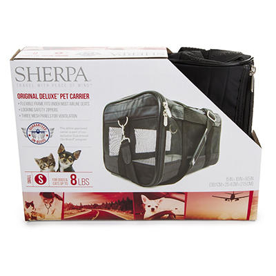 Sherpa Small Deluxe Pet Carrier