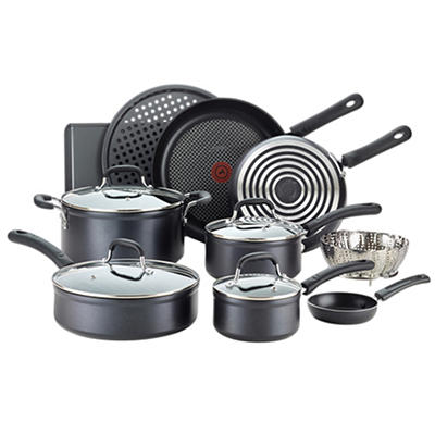 T-fal 14-Piece Forged Non-Stick Cookware Set