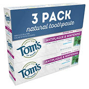 Tom's of Maine Natural Tooth Paste, 3 pk.
