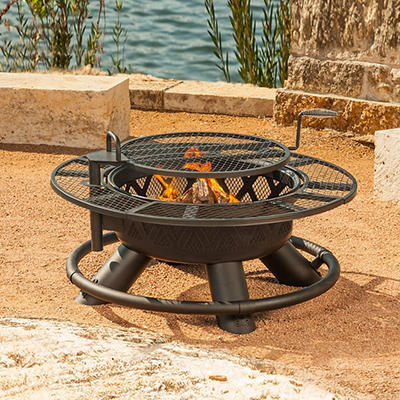 """Big Horn 47"""" Wood Burning Ranch Fire Pit"""
