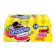 Snapple All Natural Variety Lemonade, 24 pk./20 oz.