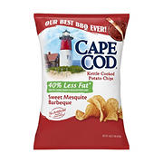 Cape Cod Potato Chips Sweet Mesquite Barbeque Kettle Cooked Chips, 16 oz.