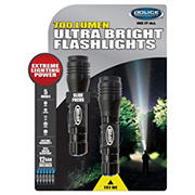 Police Security 700-Lumen Flashlights, 2 pk.