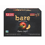 BARE Baked Crunchy Apple Chips Variety Pack, 12 ct.