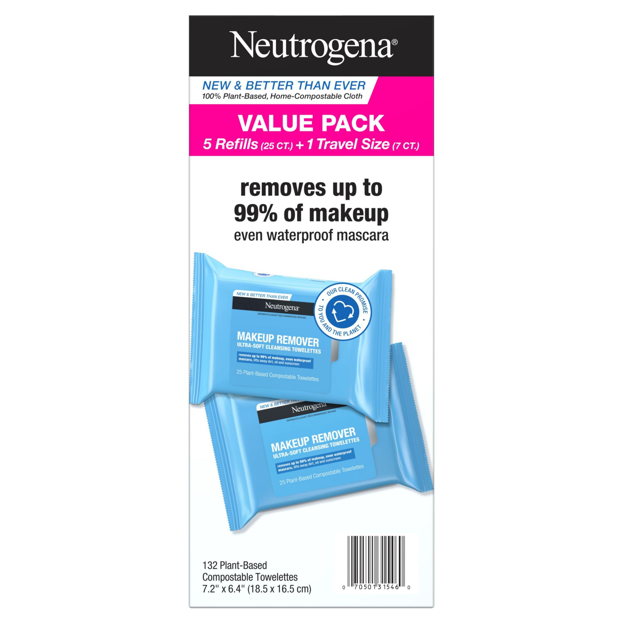 Face Wipes 132 Ct
