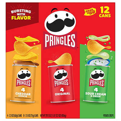 Pringles Variety Can Pack, 12 ct.