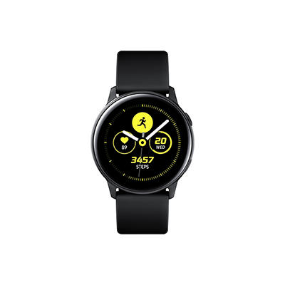 Samsung Galaxy Watch Active Smart Watch with Bluetooth - Black