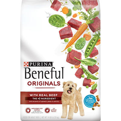 Purina Beneful Adult Dry Dog Food With Real Chicken, 14 lbs.