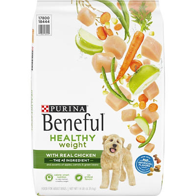Purina Beneful Healthy Weight with Real Chicken Adult Dry Dog Food, 14