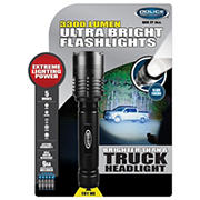 Police Security 3,300-Lumen Flashlight