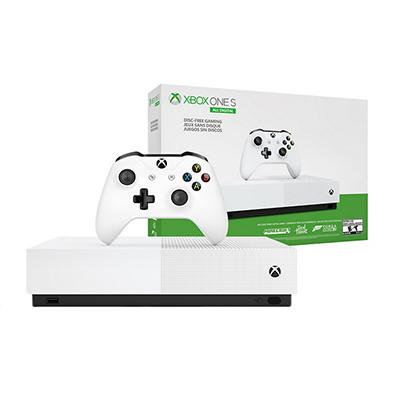 Microsoft Xbox One S All-Digital Edition Bundle