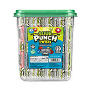 Sour Punch Twists Tub, 120 ct.